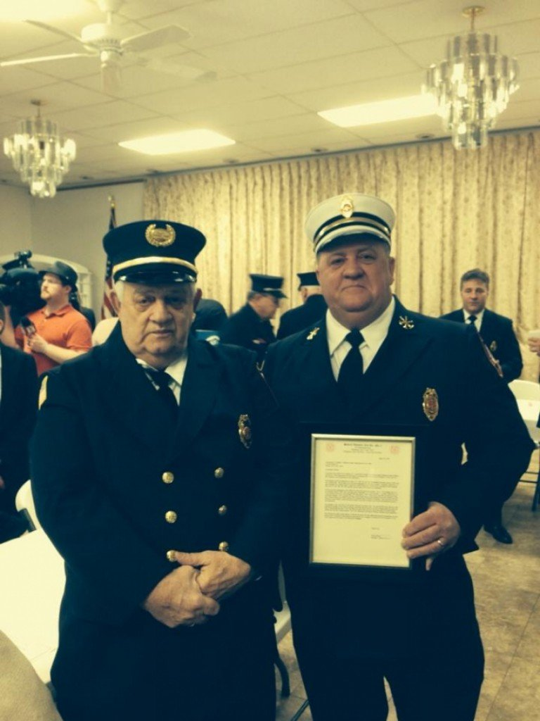 Selkirk FD Honors Firefighters Of The Year