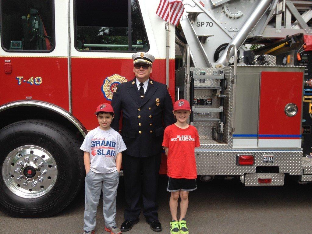 Selkirk FD Raffles Off Memorial Day Parade Truck Ride For Glenmont School Fundraiser