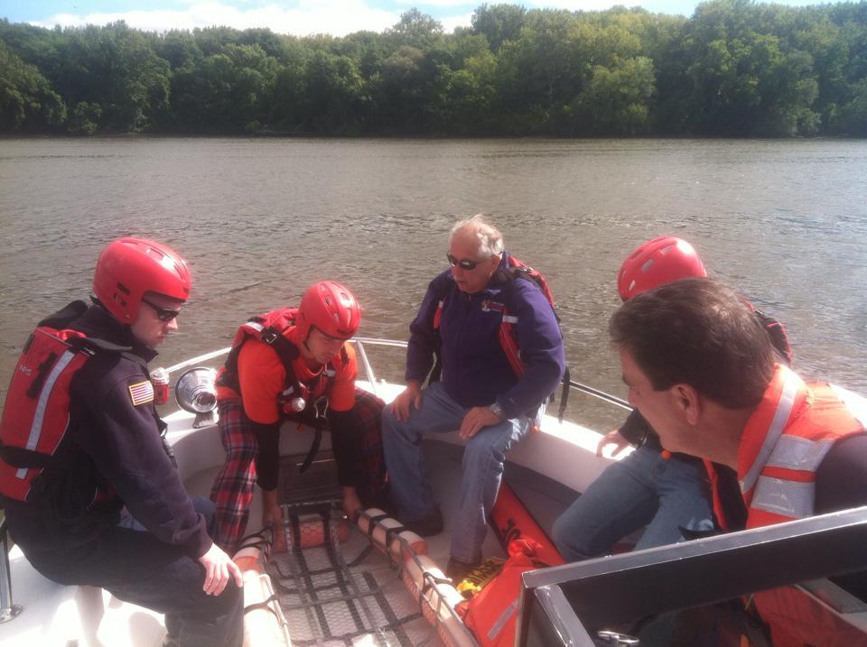 Selkirk FD Members Complete Water Rescue Training