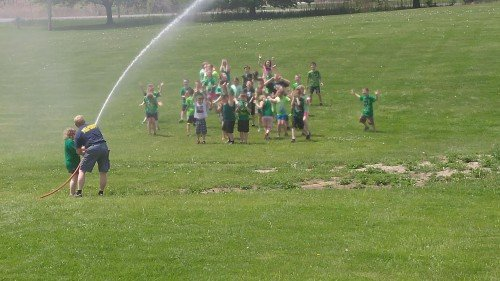 Selkirk FD Participates In A.W. Becker Field Day Event