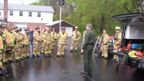 Selkirk FD Participates In Outdoor/Brush Fire Training