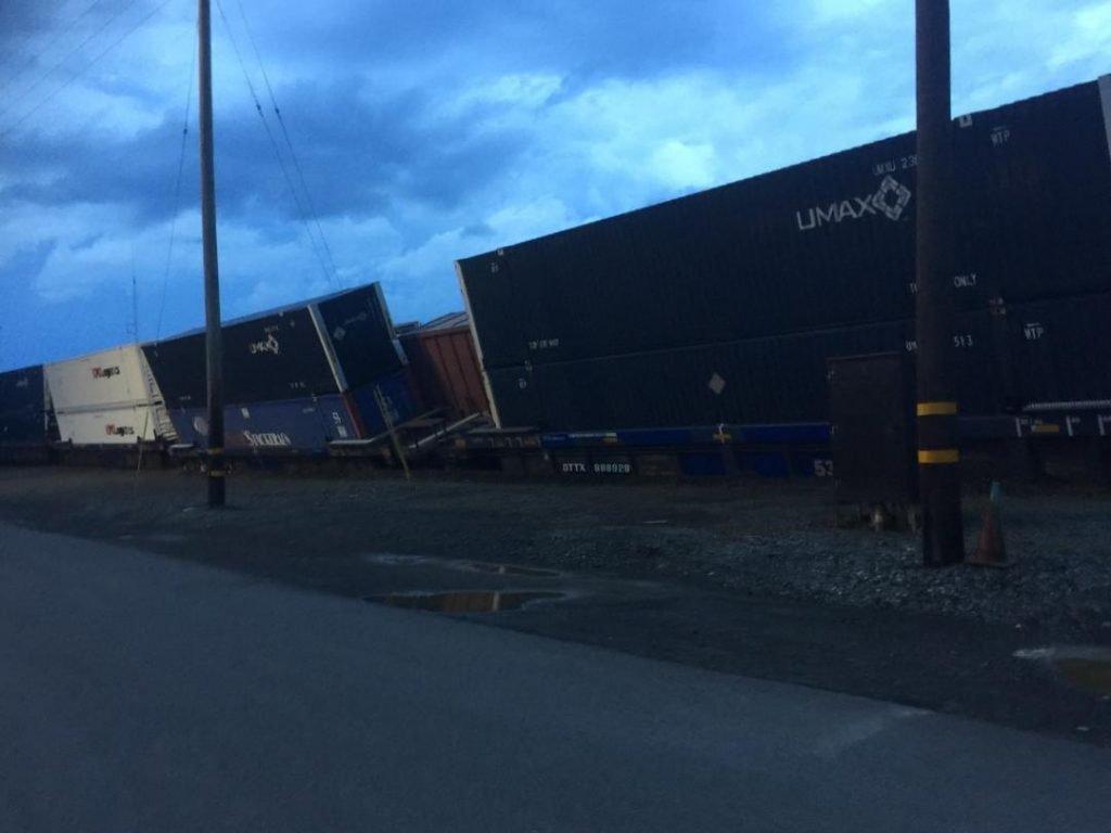 Selkirk FD Responds To CSX Train Derailment