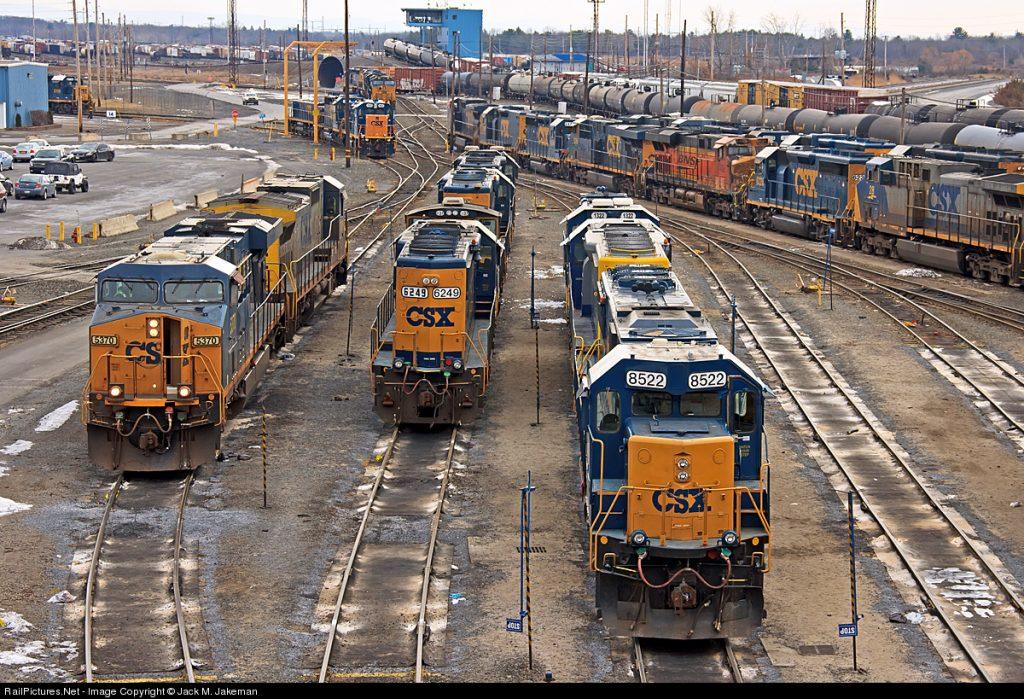Selkirk FD Responds To CSX Railyard – Suspicious Device On Railcar