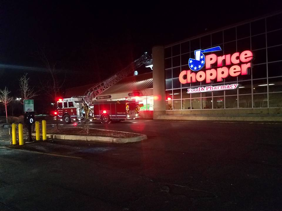 Selkirk FD Responds To Possible Structure Fire – Glenmont Price Chopper
