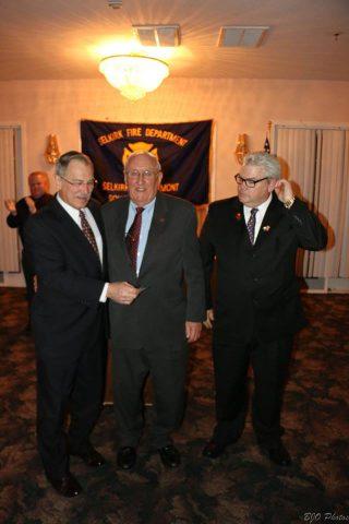 Selkirk FD Members Reach Milestone Anniversaries