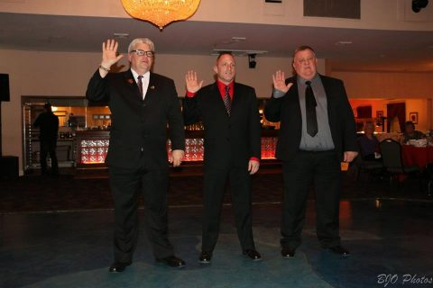 Selkirk FD Installs 2017 Officers