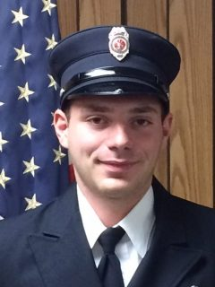 Firefighter Jimmy Bercharlie – 2016 Selkirk FD Firefighter Of The Year
