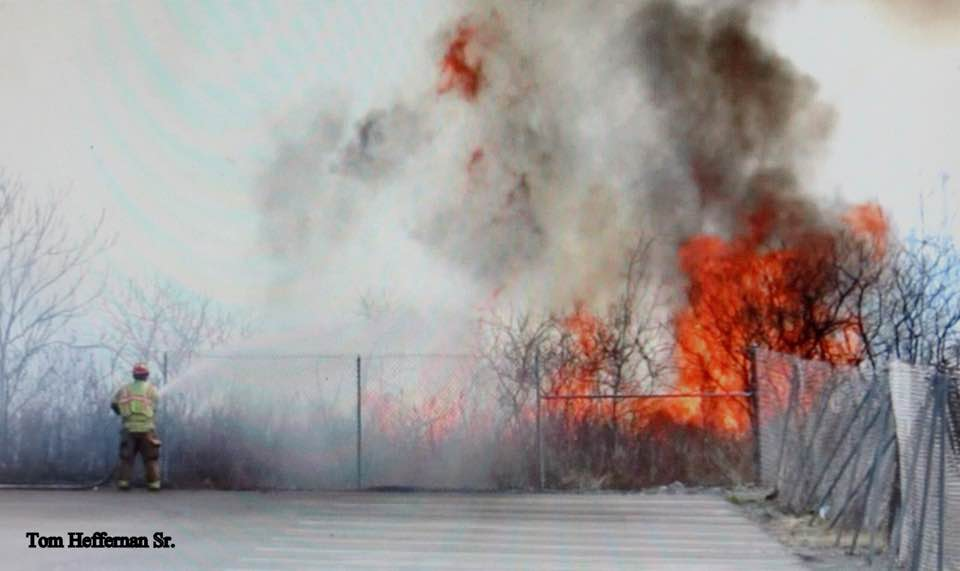 Selkirk FD Responds To Outdoor Fire – Near CSX Railyard
