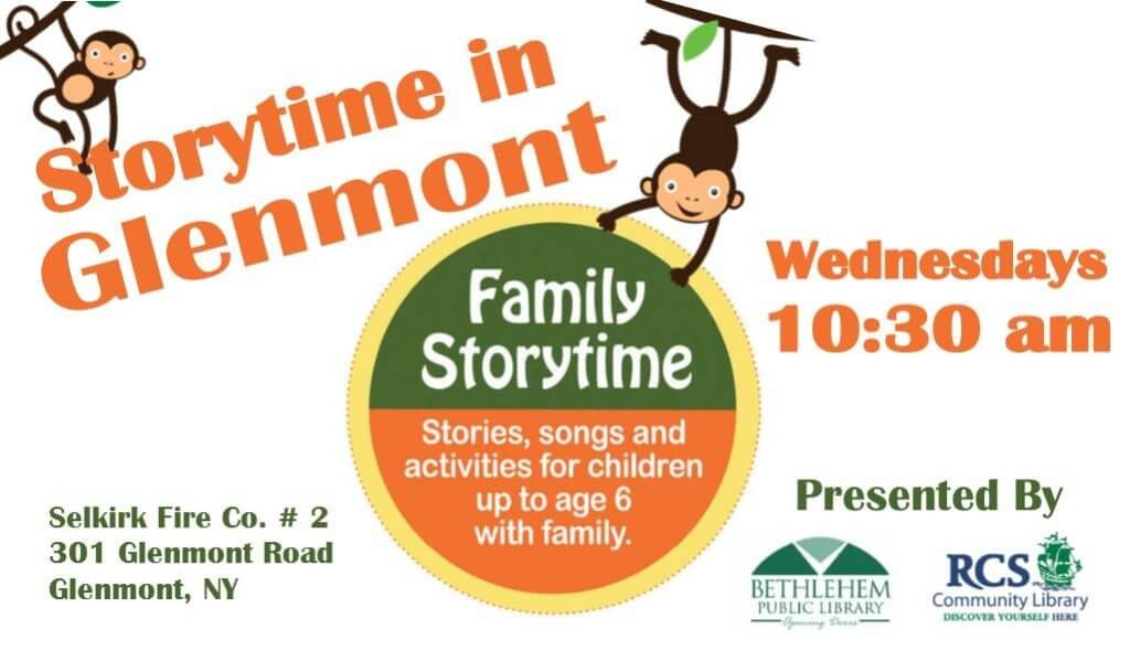 Selkirk FD Teams Up With Bethlehem Public Library & RCS Community Library For Family Storytime In Glenmont