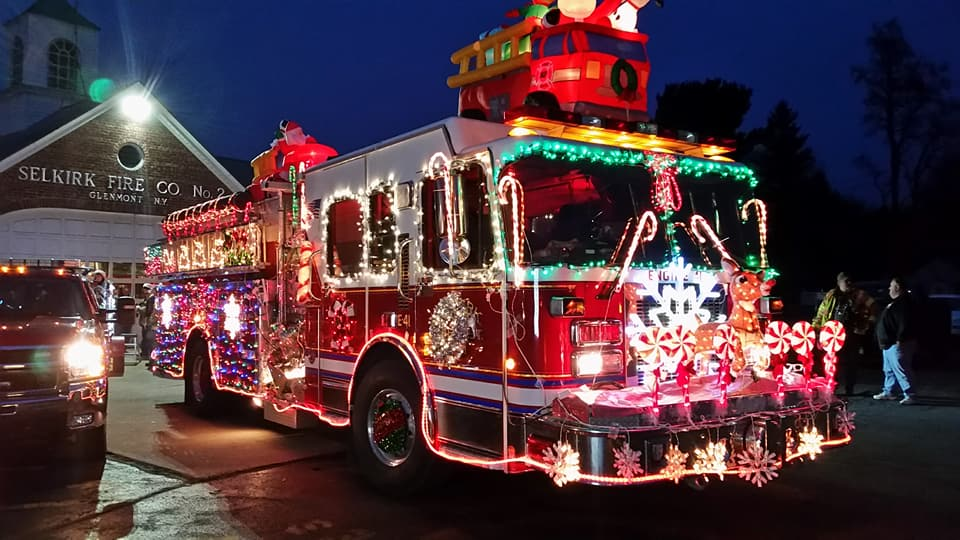 13th Annual Selkirk Fire Department Holiday Fire Truck