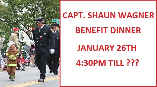 Captain Shaun Wagner Benefit Dinner – THANK YOU