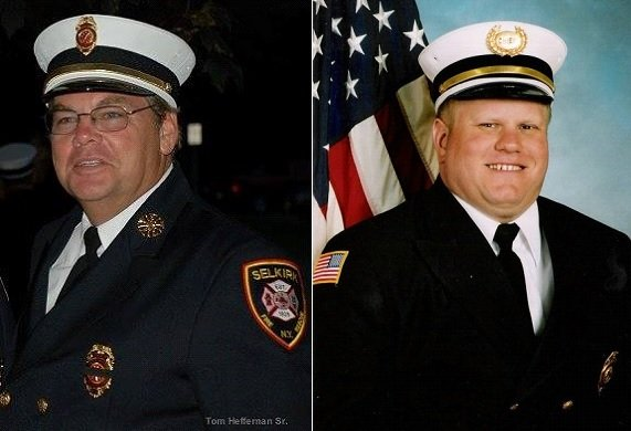 Selkirk FD Thanks Outgoing Commissioners